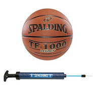 "Spalding TF-1000 Legacy Indoor Composite 28.5"" Intermediate Basketball with Pump"