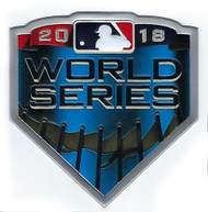 MLB 2018 World Series Collectors Patch