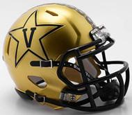 Vanderbilt Commodores NCAA Revolution New 2018 GOLD SPEED Mini Helmet