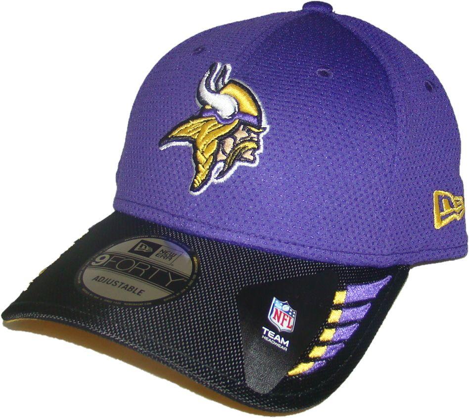 a67a768cb32 MINNESOTA VIKINGS New Era 9FORTY NFL ADJUSTABLE BASEBALL HAT   CAP. New Era.  Image 1