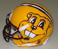 Minnesota Golden Gophers Alternate Oversize Gopher Gold Schutt Mini Authentic Helmet