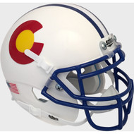 Colorado State Rams Alternate Schutt Mini Authentic Football Helmet
