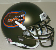 Florida Gators Swamp Green Alternate Schutt Mini Authentic Football Helmet