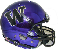 Washington Huskies Alternate Purple Chrome Schutt Full Size Replica XP Football Helmet