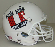 Utah Utes Alternate White Tribal Schutt Full Size Replica Helmet