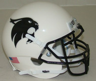 Texas State Bobcats Alternate White with Black Mask Schutt Mini Authentic Helmet