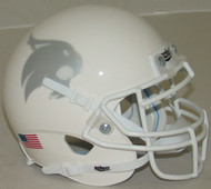 Texas State Bobcats Alternate White Schutt Mini Authentic Helmet