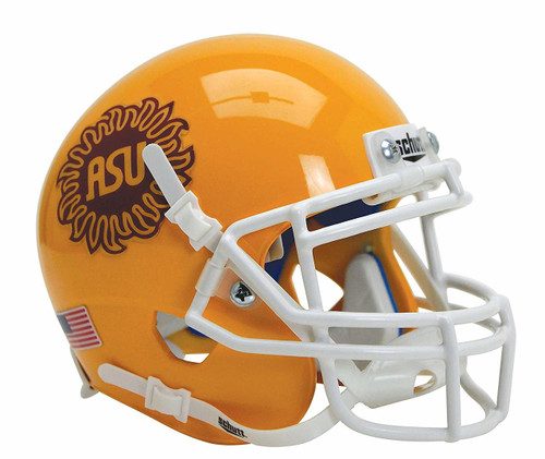Arizona State Sun Devils Alternate Sunburst Schutt Mini Authentic Football Helmet