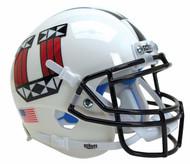 Utah Utes White Tribal Alternate Schutt Mini Authentic Football Helmet
