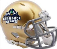 Notre Dame Fighting Irish Special New York City 2018 Shamrock Series NCAA Riddell Speed Mini Helmet