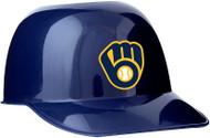 Milwaukee Brewers MLB 8oz Snack Size / Ice Cream Mini Baseball Helmets - Quantity 1