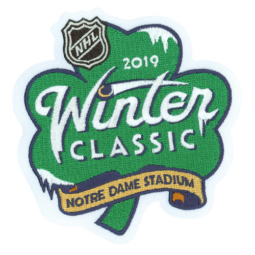 c8e1afc5d 2019 NHL Winter Classic Jersey Patch - Notre Dame Stadium - Chicago ...