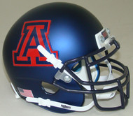 Arizona Wildcats Alternate Navy Hard Edge Schutt Mini Authentic Helmet