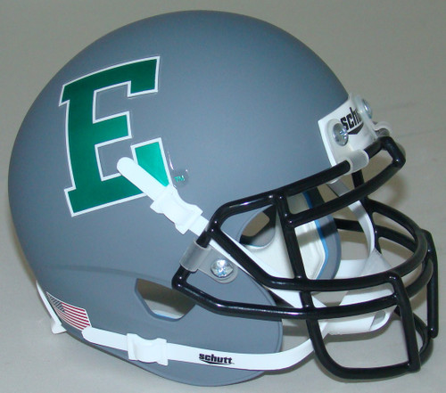 Eastern Michigan Eagles Alternate Gray Schutt Mini Authentic Helmet