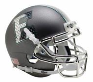 Eastern Michigan Eagles Alternate Gray Chrome Schutt Mini Authentic Helmet