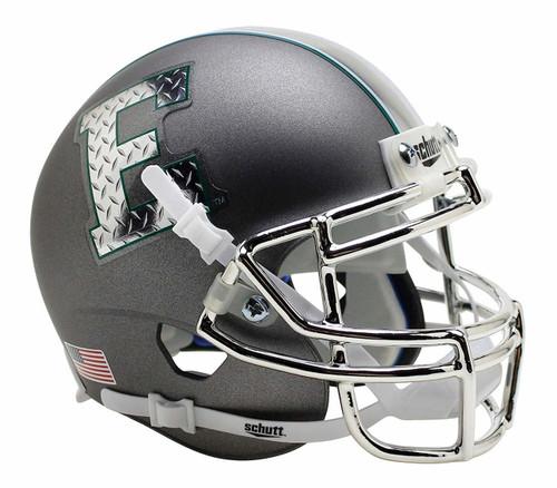 Eastern Michigan Eagles Alternate Gray Chrome Schutt Mini Authentic Football Helmet