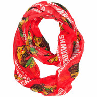 Chicago Blackhawks NHL Sheer Infinity Scarf