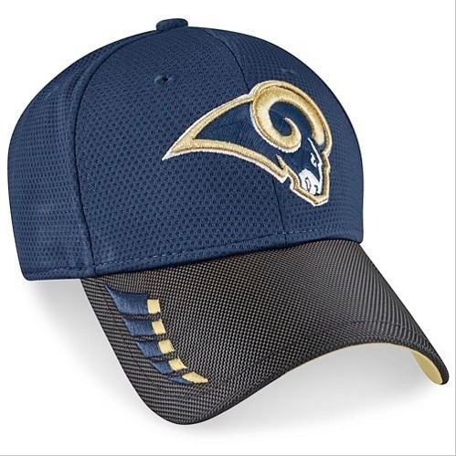 2e7abe5e49a66 LOS ANGELES RAMS New Era 9FORTY NFL ADJUSTABLE BASEBALL HAT   CAP ...