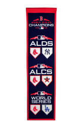 Winning Streak Boston Red Sox 2018 MLB World Series Road to Championship Champions Heritage Banner