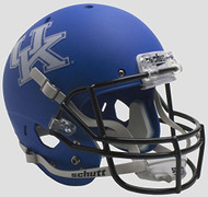Kentucky Wildcats Alternate Matte Blue Schutt Full Size Replica XP Football Helmet