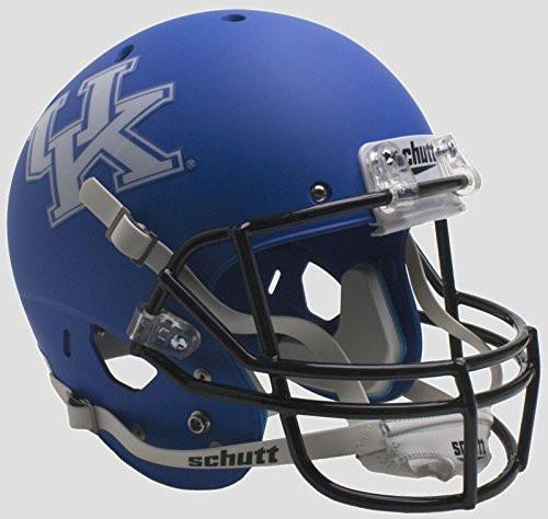 Kentucky Wildcats Alternate Matte Blue Schutt Full Size Replica XP Football Helmet