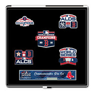Boston Red Sox 2018 World Series Champions Commemorative Pin Set - Limited to 5,000
