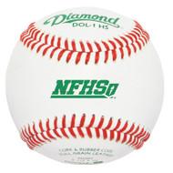 Diamond DOL-1 HS New NFHS Official League Leather High School Baseballs (Dozen)