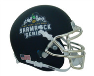 Notre Dame Fighting Irish Alternate 2018 Navy (Shamrock Series New York) Schutt Mini Authentic Football Helmet