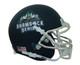 Notre Dame Fighting Irish Alternate 2018 Navy (Shamrock Series New York) Schutt Mini Authentic Football Helmet
