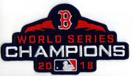 MLB Boston Red Sox 2018 World Series Champions Collectors Patch