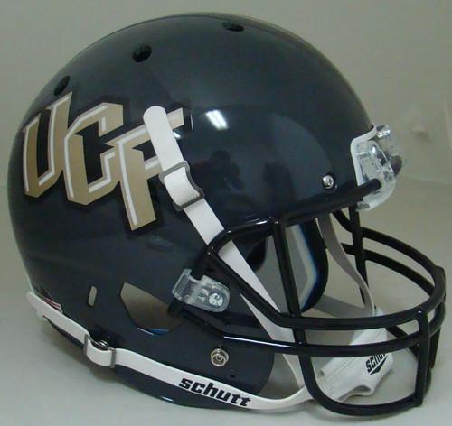 NCAA UCF Knights Alternate Black Schutt Full Size Replica XP Football Helmet