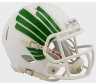 North Texas Mean Green Alternate White NCAA Riddell SPEED Mini Football Helmet