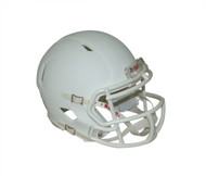 Matte White with White Mask Blank Riddell Revolution SPEED Mini Football Helmet