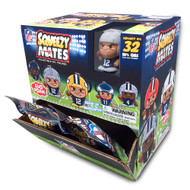 SqueezyMates by Teenymates NFL Gravity Feed Figurines Mystery Box (24 packs)