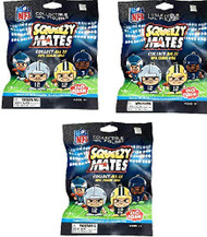 SqueezyMates by Teenymates NFL Gravity Feed Figurines Mystery Pack (3 packs)