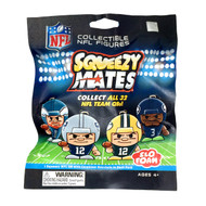 SqueezyMates by Teenymates NFL Gravity Feed Figurines Mystery Pack