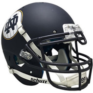 Notre Dame Fighting Irish Alternate Matte Navy Pinstripe Shamrock Series Schutt Full Size Authentic Football Helmet