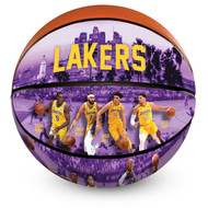 Los Angeles Lakers 2018/2019 Roster Officially Licensed Premium NBA Basketball with Lebron James