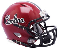 South Carolina Gamecocks Alternate Script NCAA Riddell SPEED Mini Football Helmet