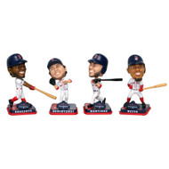 MLB Boston Red Sox 2018 World Series Champions Mini Bobbleheads 4-pack Set