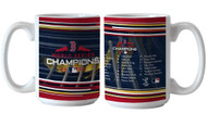 Boston Red Sox 2018 World Series Champions Team Roster 15 Ounce Coffee Mug