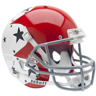 Air Force Falcons Special Red White & Blue Schutt Full Size Replica XP Football Helmet