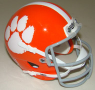 Clemson Tigers 1970-74 Schutt Throwback Mini Authentic Football Helmet