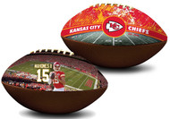 Patrick Mahomes II Kansas City Chiefs NFL Full Size Official Licensed Premium Football