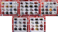 2018 Riddell NCAA Pocket Pro Helmet Sets (72 Helmets) ACC BIG TEN SEC BIG 12 PAC 12