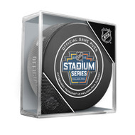 2019 NHL Stadium Series Official Hockey Puck in Cube - Philadelphia Flyers vs. Pittsburgh Penguins