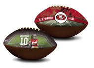 Jimmy Garoppolo San Francisco 49ers NFL Full Size Official Licensed Premium Football