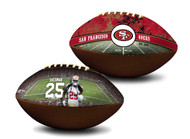 Richard Sherman San Francisco 49ers NFL Full Size Official Licensed Premium Football