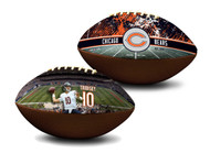 Mitchell Trubisky Chicago Bears NFL Full Size Official Licensed Premium Football