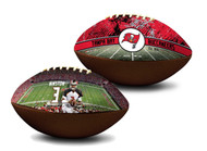 Jameis Winston Tampa Bay Buccaneers NFL Full Size Official Licensed Premium Football